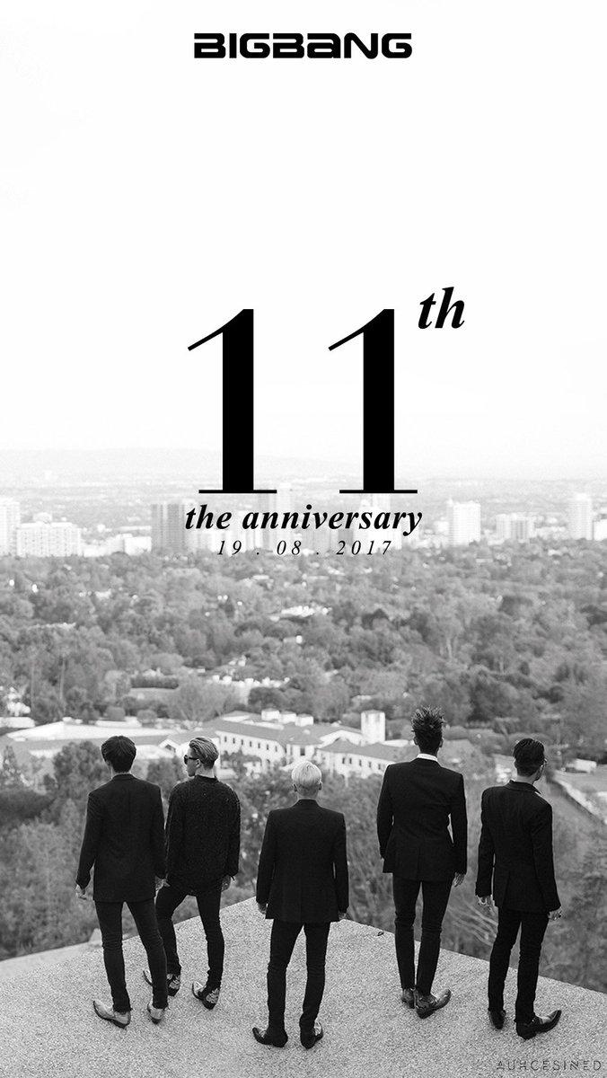 M A N D U On Twitter Wallpaper Bigbang 11th Anniversary Bigbang