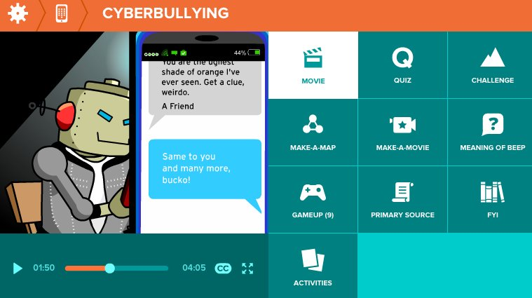 Talk to kids about following the Golden Rule online - and off. Our Featured Movie about #cyberbullying can help.  http:// ow.ly/43UI30einM2  &nbsp;  <br>http://pic.twitter.com/XNhxWsySPg