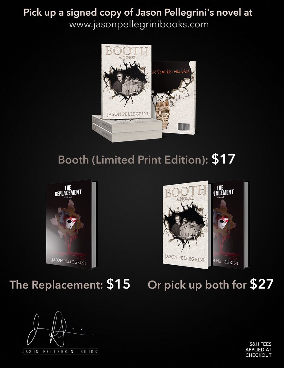 Place an order today at  http:// jasonpellegrinibooks.com  &nbsp;  , and your books will be in the mail first thing tomorrow morning (8/19)! #goodreads <br>http://pic.twitter.com/vwBMG8TbmX