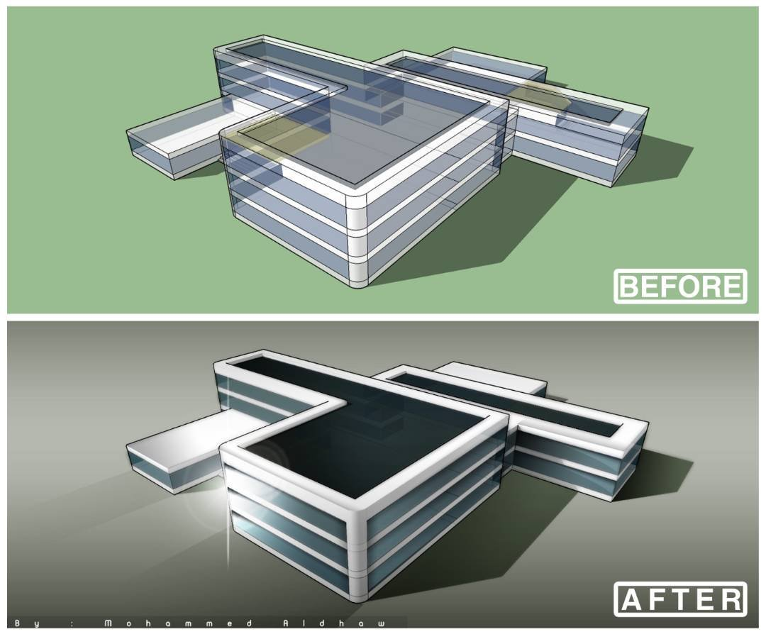 Trying to rendering from SKP. To Photoshop CS4  #Arch #render #Ps <br>http://pic.twitter.com/xRaWaMLTA7