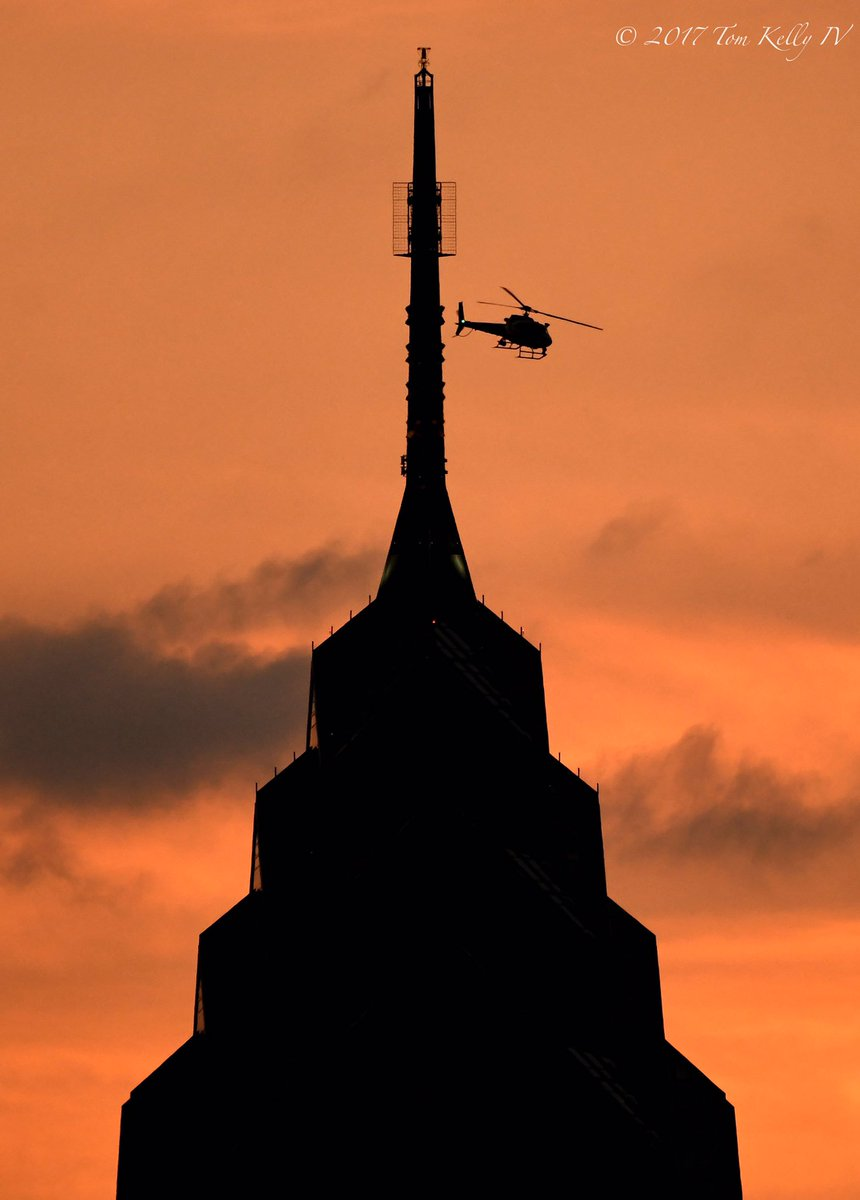 #TacAir doing a sunset flyby of #OneLibe...