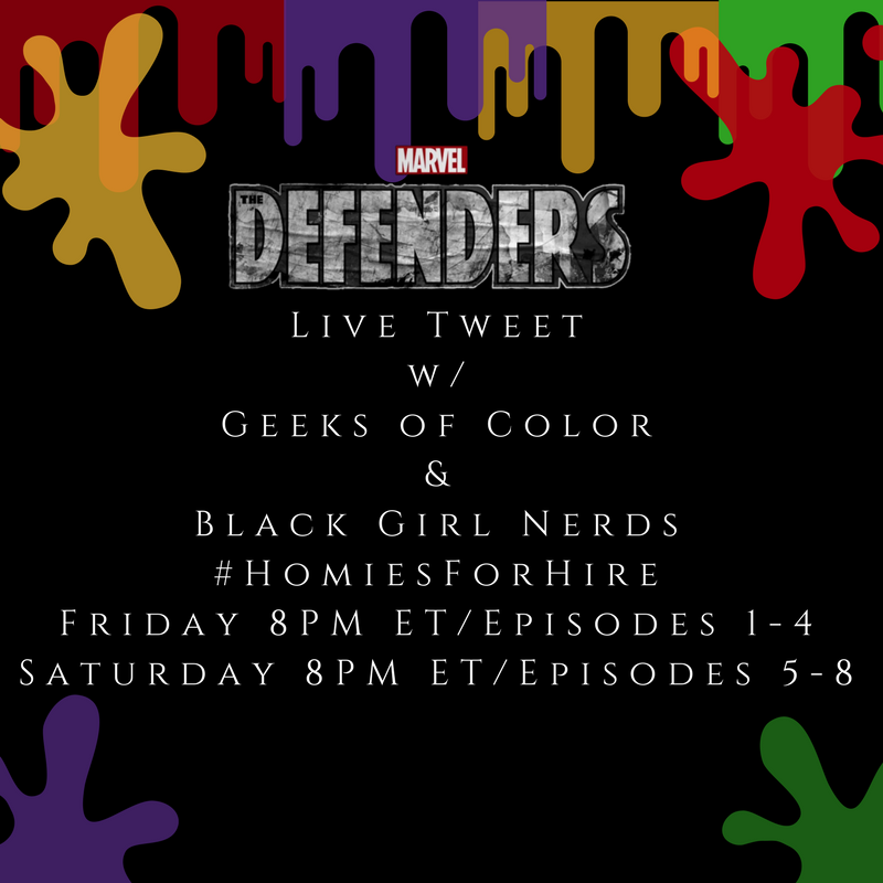 Whose ready for tonight!? Episodes 1-4 tonight at 8PM ET w/ @GeeksOfCo...
