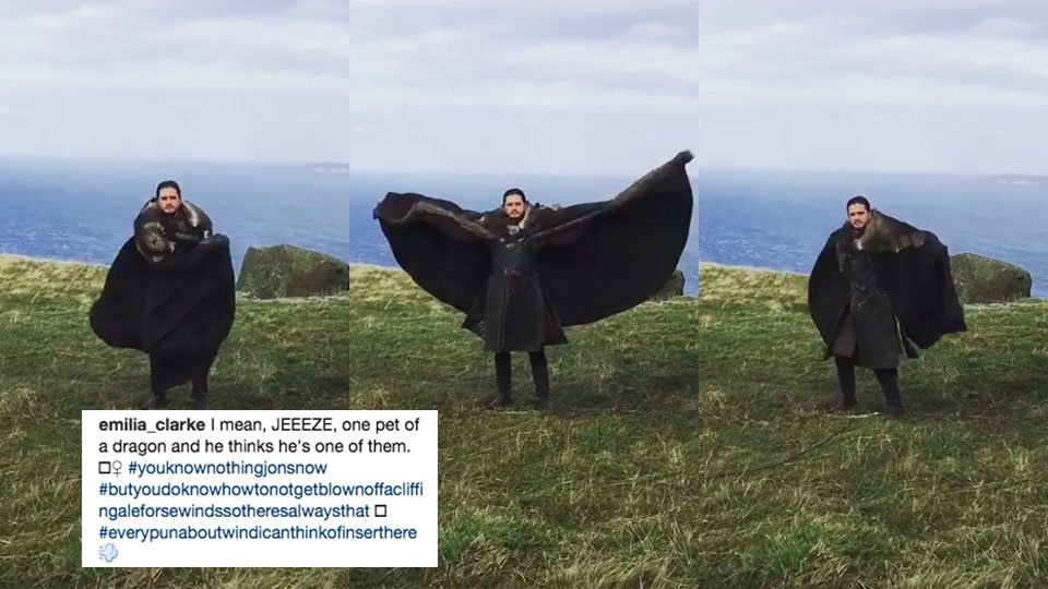 Emilia Clarke just shared her greatest 'Game of Thrones' Instagram pos...