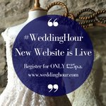Have you checked out the updates we have made to Wedding Hour? Upgrade your profile today for exclusive benefits!🌟 https://t.co/5c2rRhdj9z
