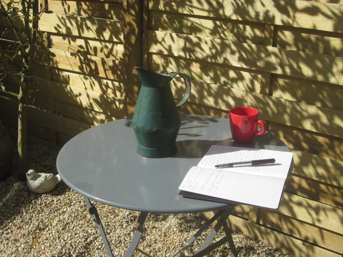 Working outside today  #Bretagne   #amwriting<br>http://pic.twitter.com/D1VMqf89pm