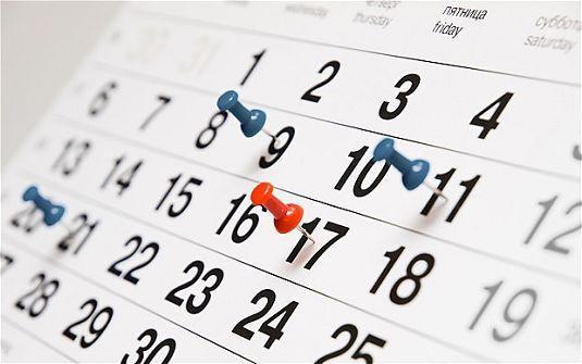 дни недели на английском языке таблица