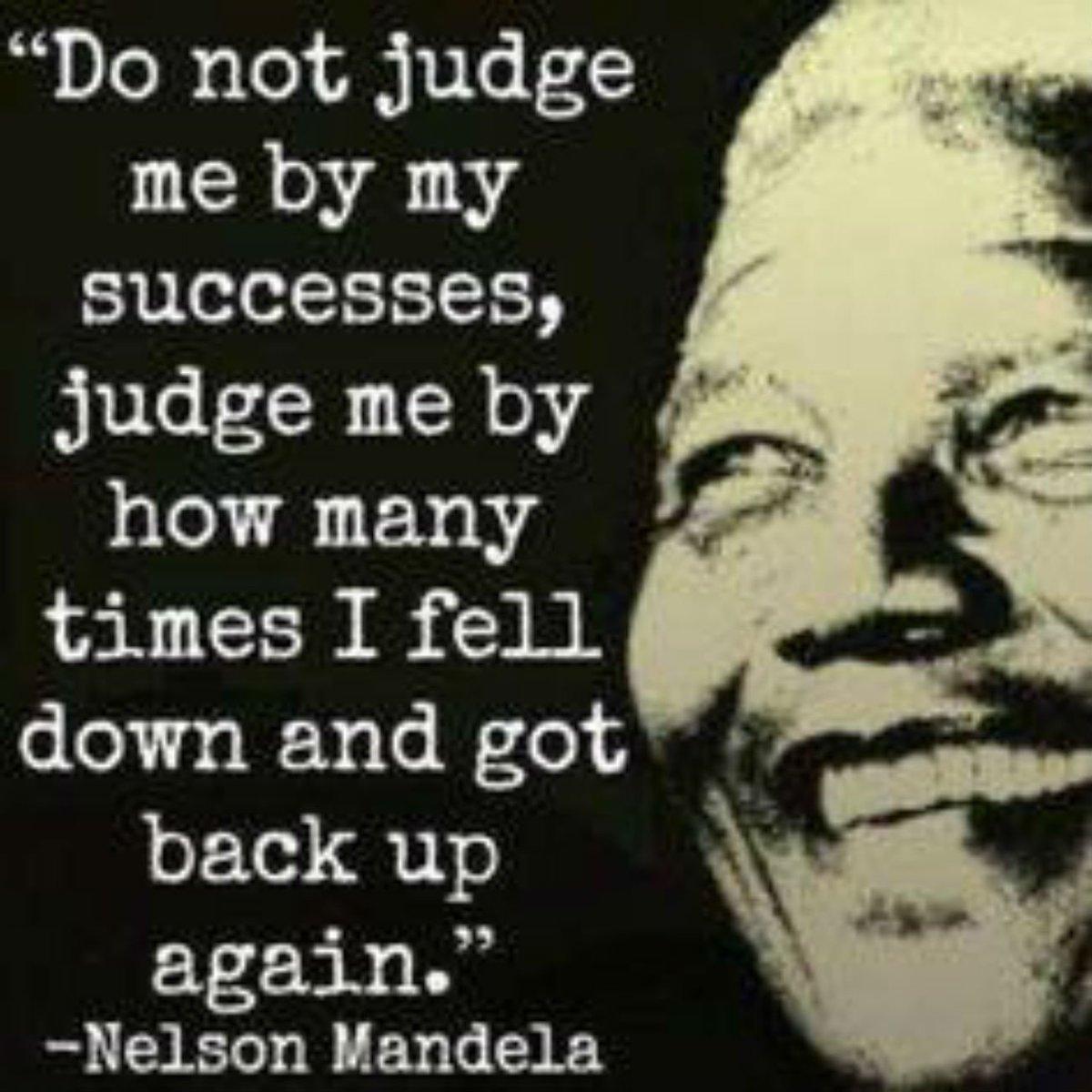 Do Not Judge Me By My Successes   http:// dld.bz/e5qDR  &nbsp;    #saying #quote #qotd #nelsonmandela<br>http://pic.twitter.com/QrLfv0O6Hl