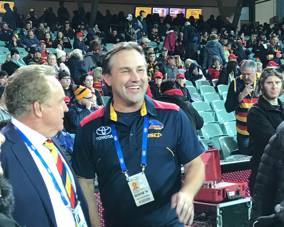 The man, the myth, the legend! ❤️ #godra #AFLCrowsSwans #weflyasone ht...