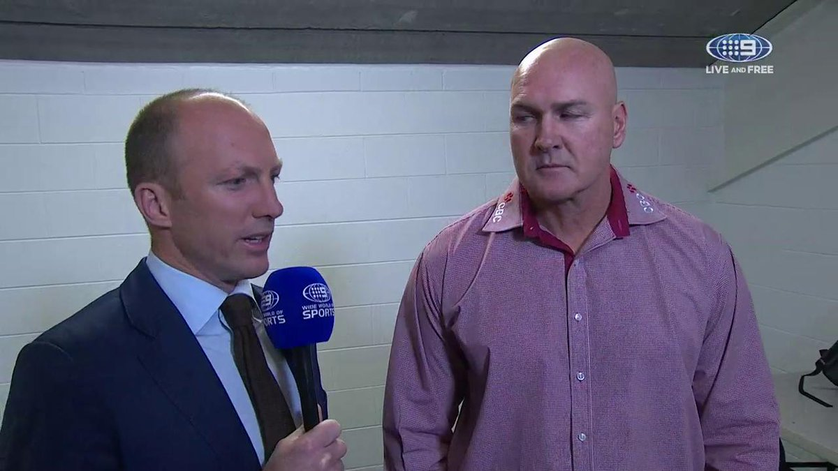 Lockyer has the latest from coach Paul McGregor ahead of tonight's #NR...