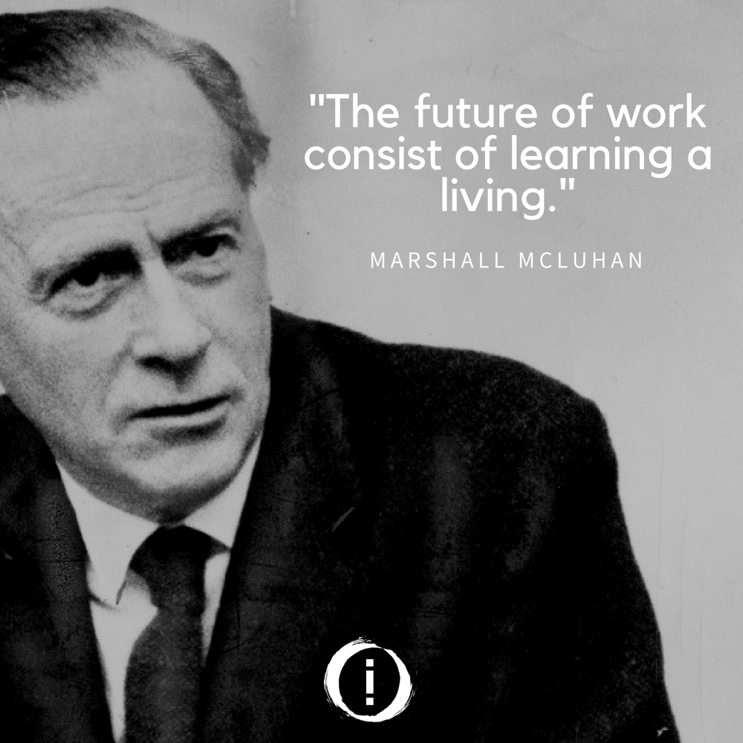 marshall mccluhan essays Herbert marshall mcluhan cc (/ m ə ˈ k l uː ə n / july 21, 1911 - december 31, 1980) was a canadian professor, philosopher, and public intellectualhis work is one of the cornerstones of the study of media theory.