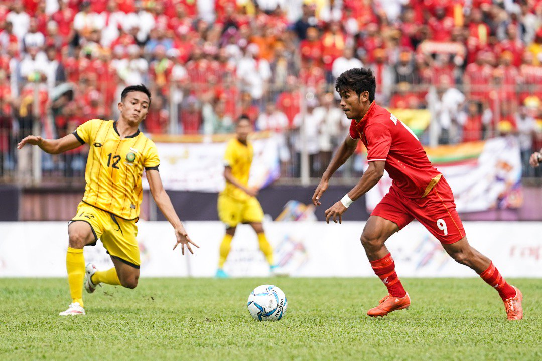 Video: U22 Brunei vs U22 Myanmar