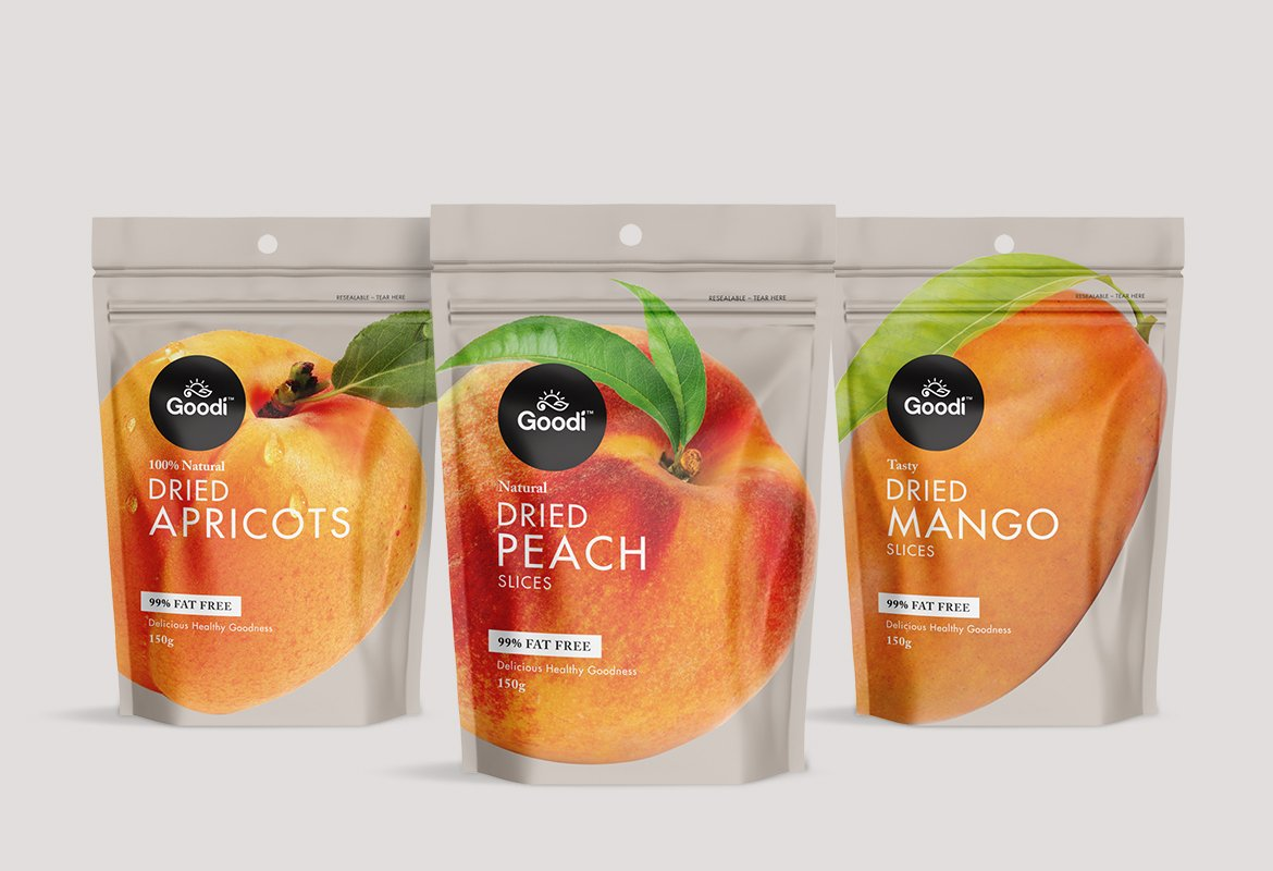 Goodi Dried #Fruit #packaging #design by @RedfireDesign -  http://www. packagingoftheworld.com/2017/08/goodi- dried-fruit-pouches.html &nbsp; … <br>http://pic.twitter.com/kujak5uhmj