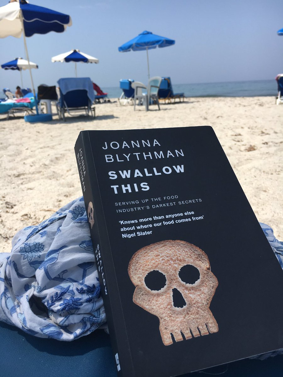 .@JoannaBlythman great reading whilst &#39;marooned&#39; on a greek island for 12 weeks! #realfood #foodie #scientist #holidayread #industrysecrets<br>http://pic.twitter.com/MZmfLCabkH