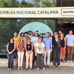 Des de l'Assemblea també ens hem sumat al minut de silenci. #Barcelona #Cambrils