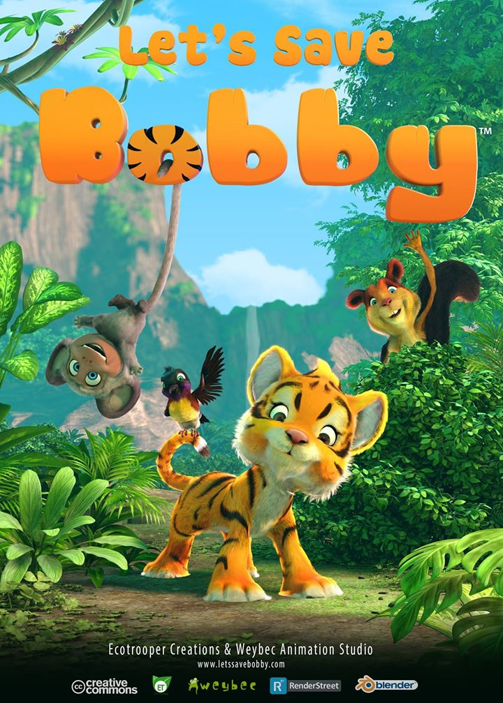 Releasing the poster of our short film. Can&#39;t wait to see Bobby on screen :) #blender #b3d #tiger #weybec #wwf #savetiger #wildlife #movie<br>http://pic.twitter.com/Jsagep8muW