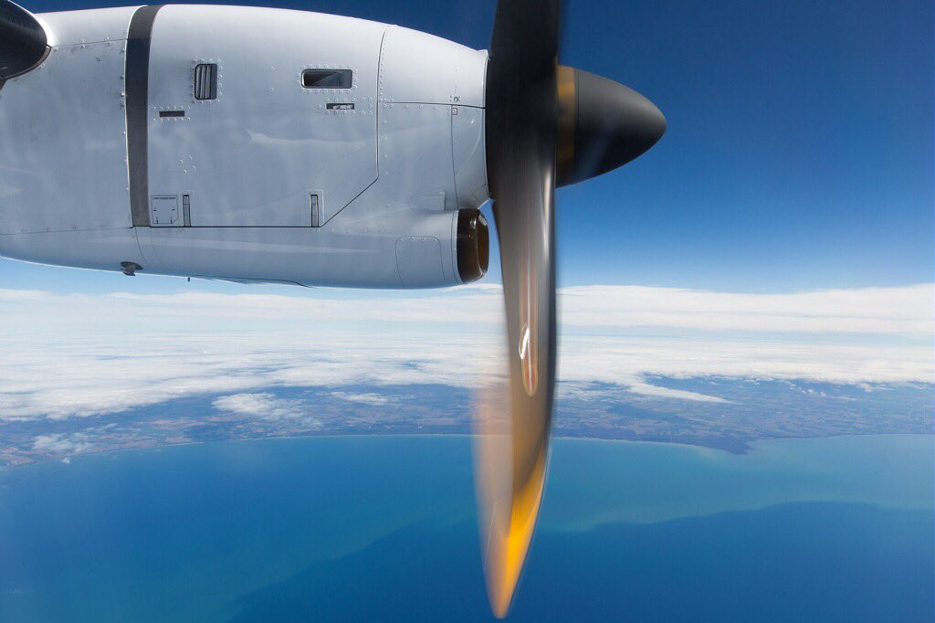A Friday above the clouds! ✈️✌️#ATR72 #ATR42 #avgeeks #friyay #TGIF ht...