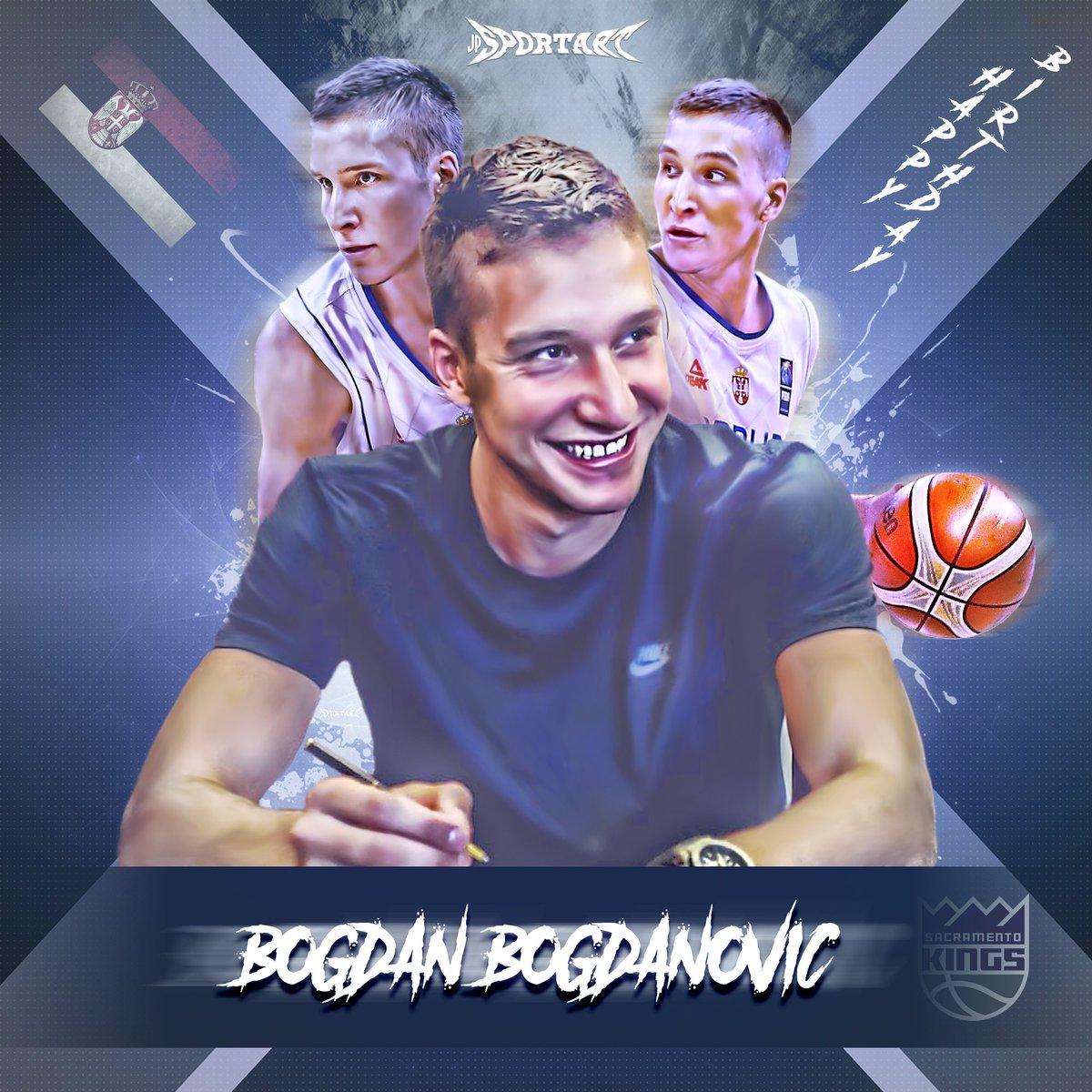 Happy Birthday mate! #BogdanBogdanovic #SacramentoKings #NBA #Fenerbah...