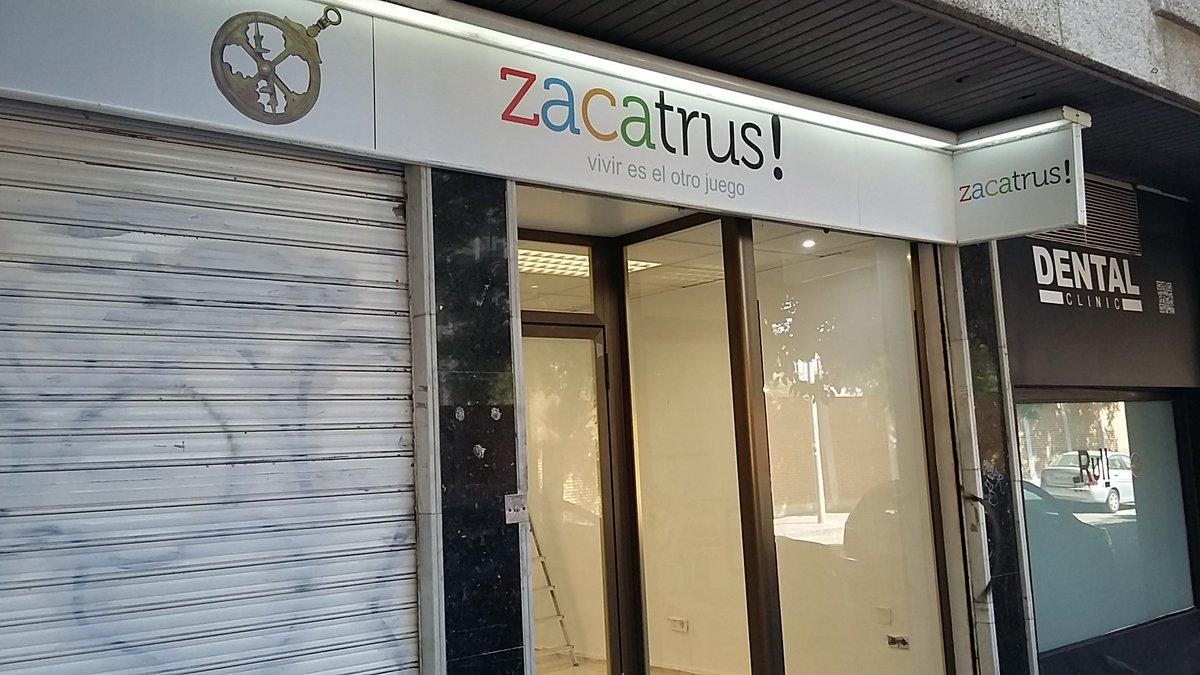 Zacatrus On Twitter Construyendo Un Nuevo Hogar Para Juegos