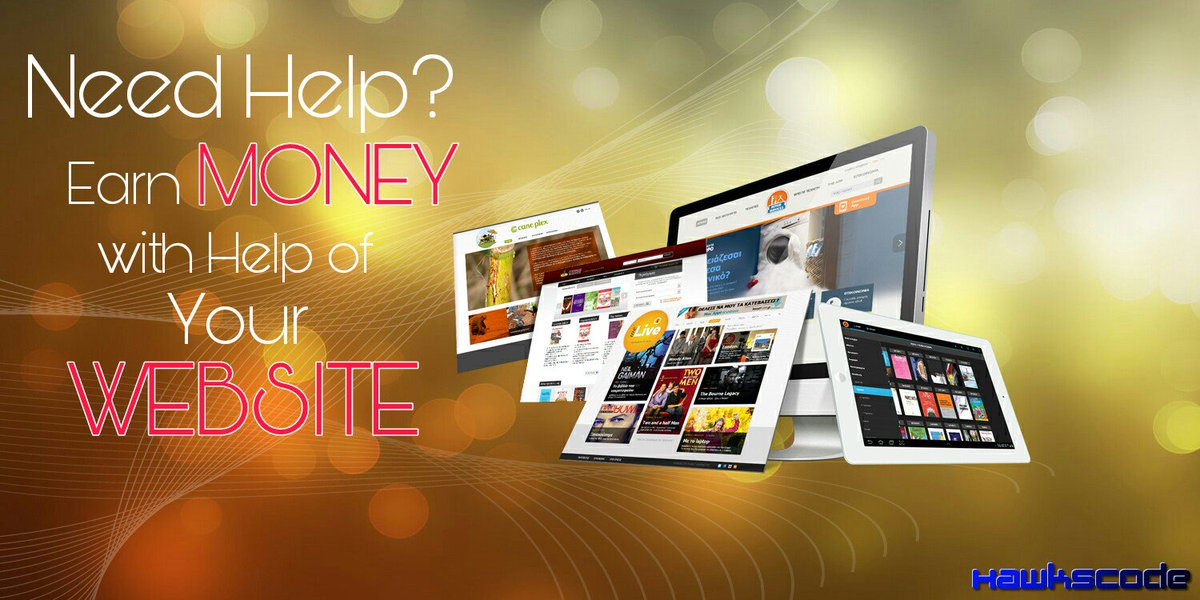 Want to #Earn #Money? But how can your website can help you in that? Know here at  http:// hawkscode.com  &nbsp;  , team of #designer and #developer<br>http://pic.twitter.com/K9ILQ3g2Sa