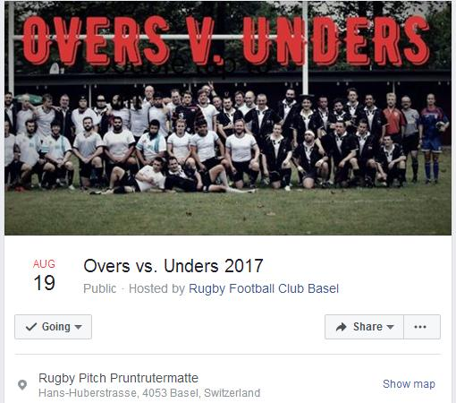 #Rugby in #Basel: it&#39;s that time of the year again - the Dinosaurs versus the Whelps at #RFCBasel&#39;s annual generation derby<br>http://pic.twitter.com/gec2C5IW8r