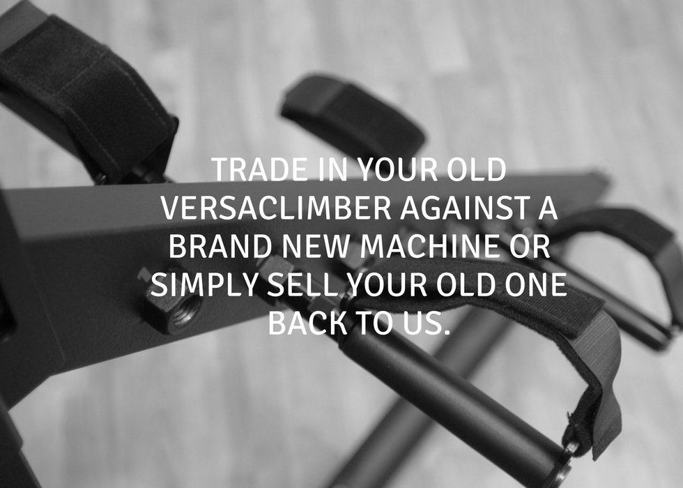 Treat yourself; trade in your old Versaclimber against the price of a new machine –  http:// ow.ly/BqCI30enYCj  &nbsp;   #cardio #fitfam<br>http://pic.twitter.com/zEXk5bD6BF