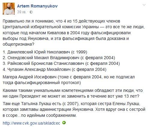 Центризбирком определил даты выборов в 202 территориальных громадах - Цензор.НЕТ 4850