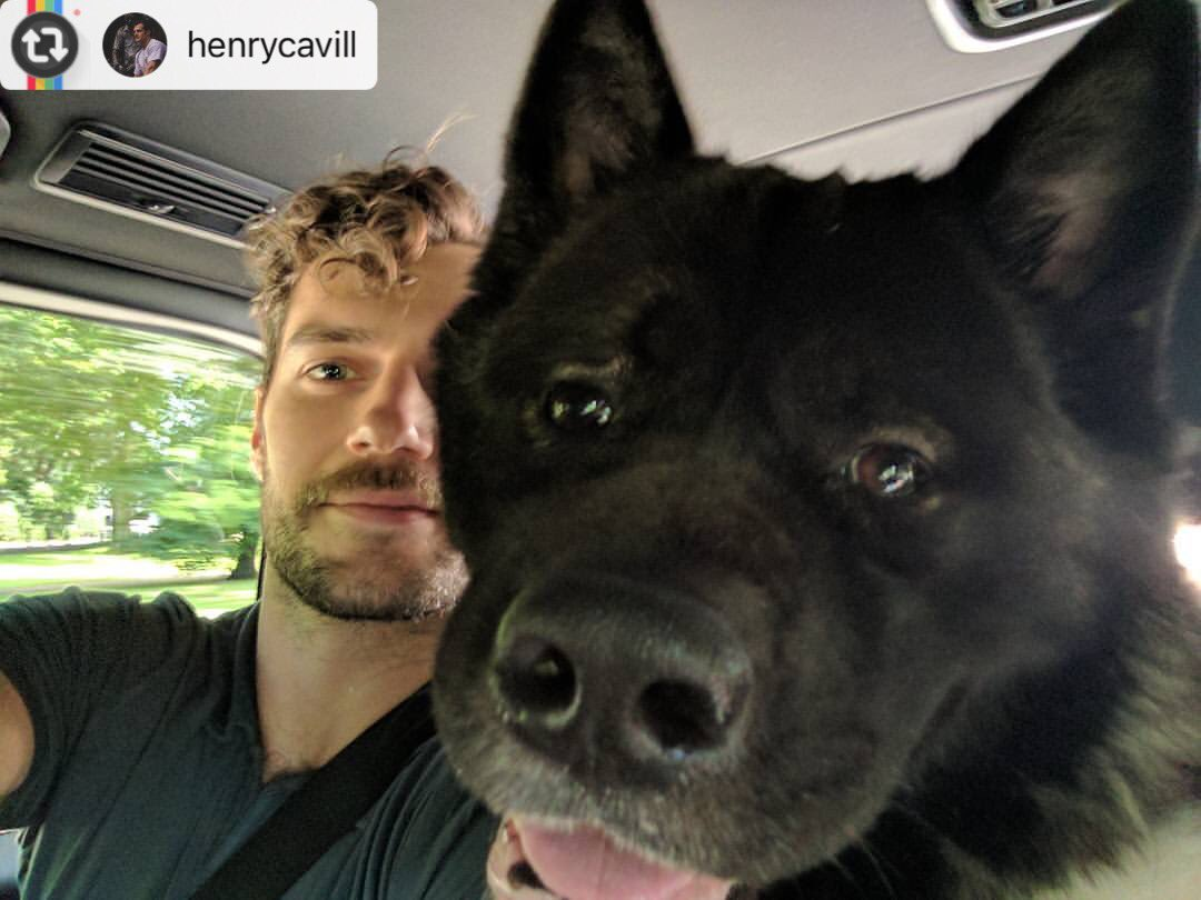 #Reposting @henrycavill with @instarepost_app -- Off to work with the...