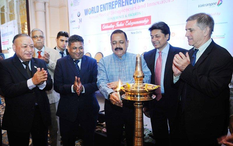 Union Minister @DrJitendraSingh inaugurates the #WorldEntrepreneursDay...