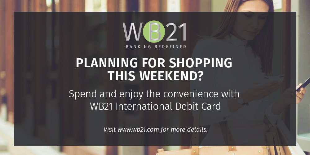 What's up this weekend? #WB21 #WebBank #WebBanking #Bank #Banking #Finance #Account #Accounts #Money #Transaction #Currency #Shopping #Funds<br>http://pic.twitter.com/WEKkqVvi52