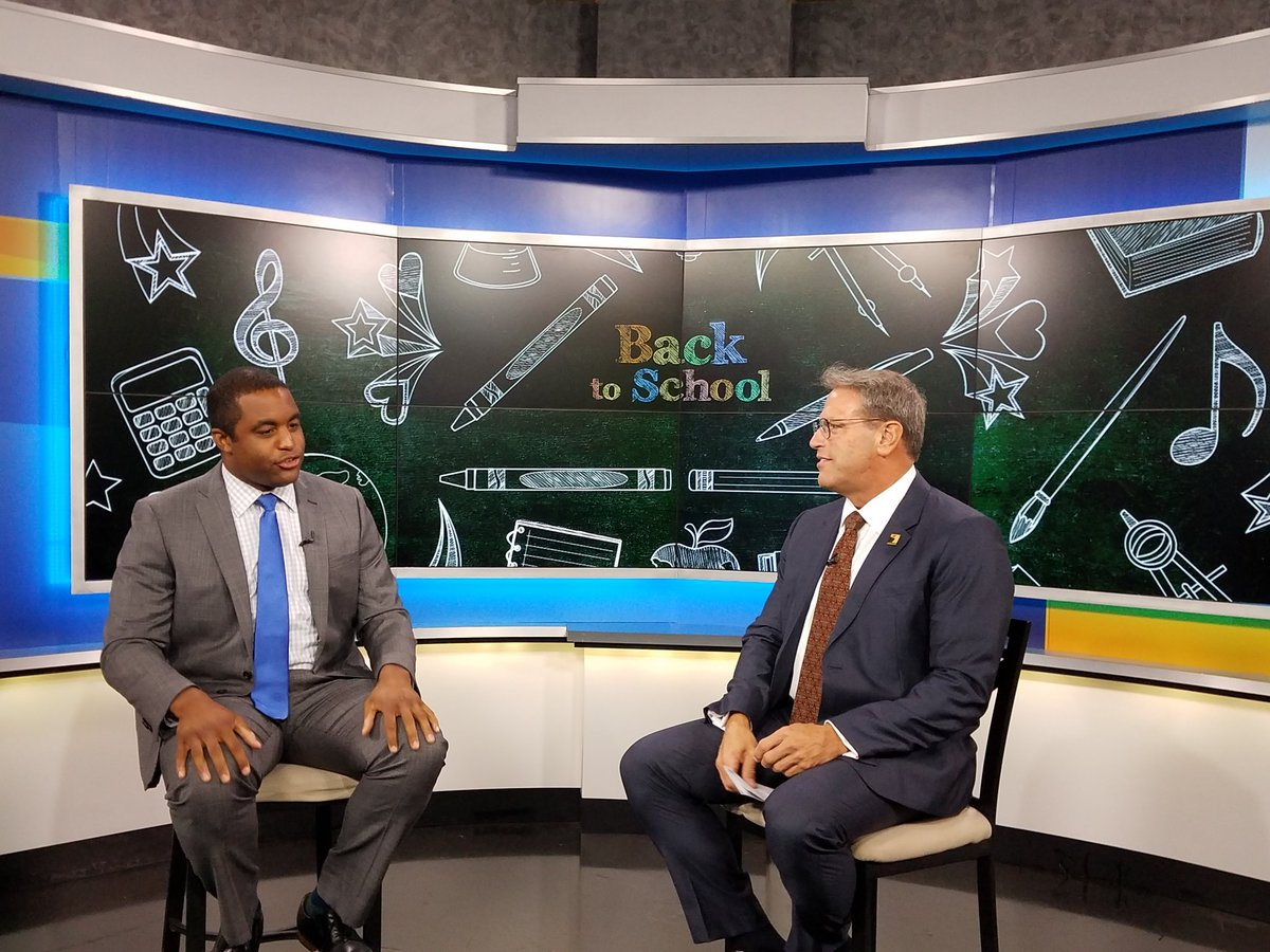 Talking Back-to-School with NBC 4's Matt Barnes.  The school year begi...