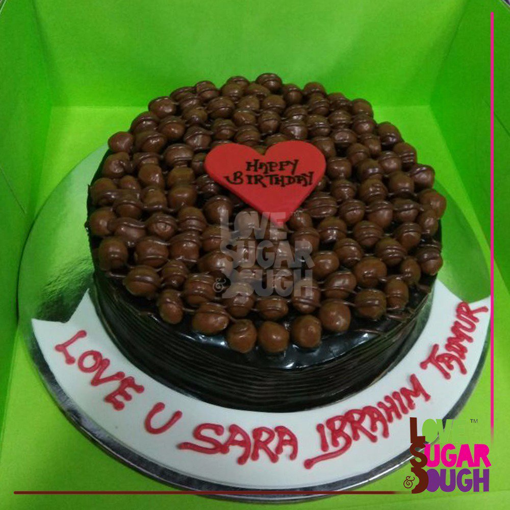 A Photo Of Saif Ali Khan S Birthday Cake Saif Ali Khan Online
