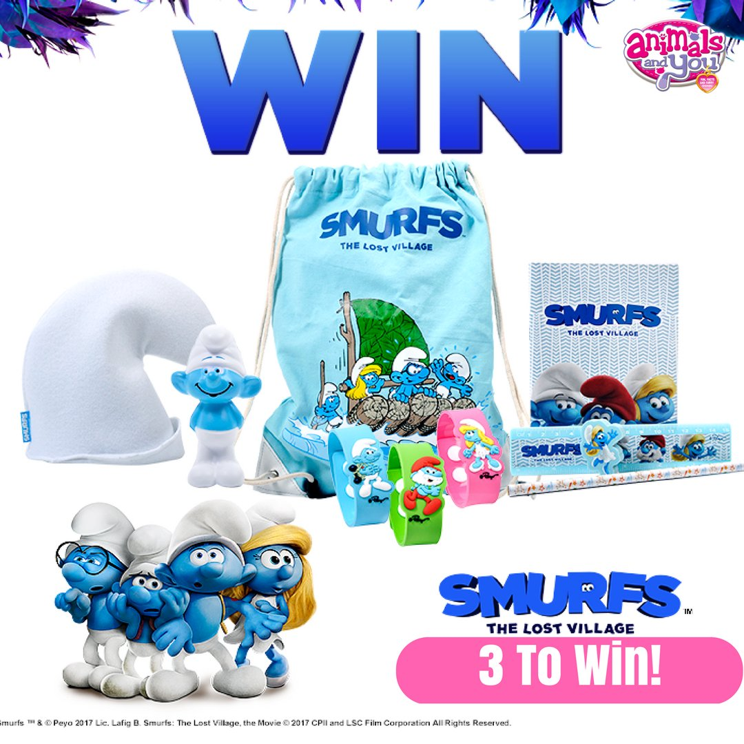 Time for #FreebieFriday! Wanna #win a #Smurfs bundle of gorgeous goodies? RT and follow us for your chance! #prize #comp <br>http://pic.twitter.com/0FuW1dvwLv