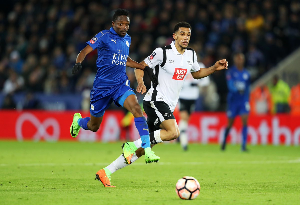 Derby County forward Nick Blackman has joined Israeli side Maccabi Tel...