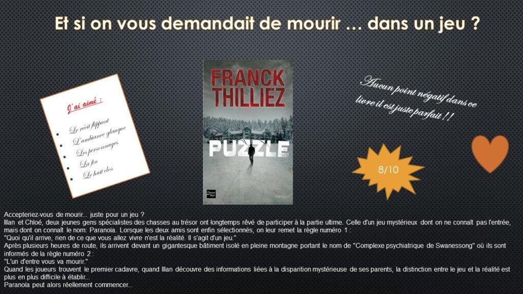 Puzzle #lire #livre #lecture #franckthilliez #passionlivre #chroniquelivre #thriller #roman  https:// livremoisite.wordpress.com/2017/08/18/puz zle/ &nbsp; …  <br>http://pic.twitter.com/utkWtnurag