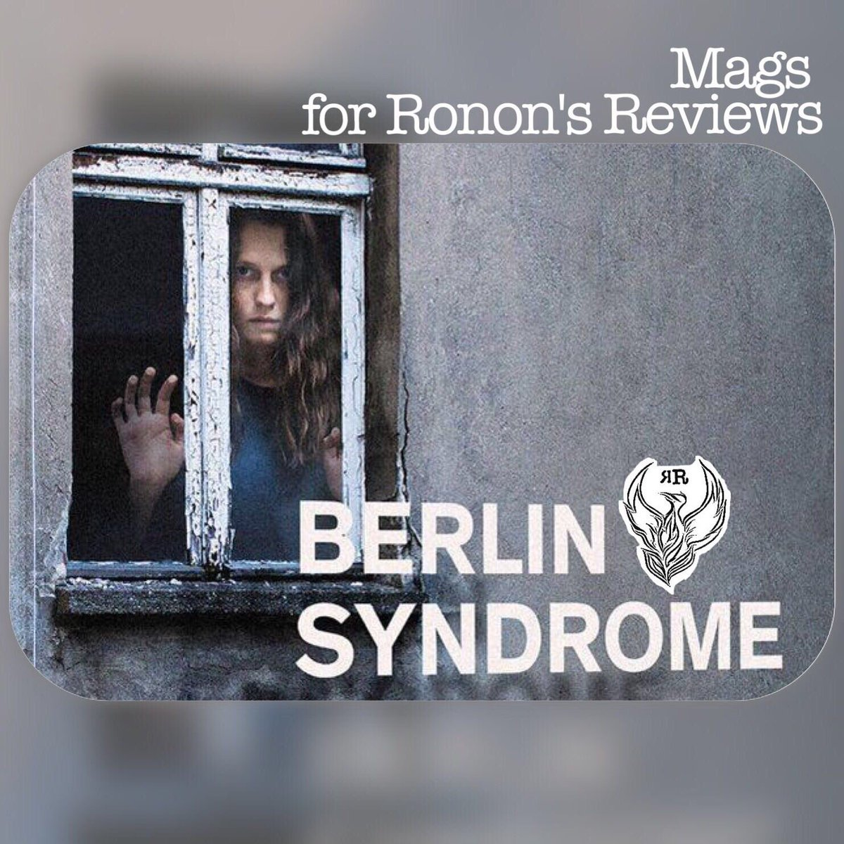 Today we have #berlinsyndrome an interesting tale of #lust #travel and #Stockholmsyndrome check it out here   http:// rononsreviews.com/reviews/cate-s hortlands-berlin-syndrome &nbsp; … <br>http://pic.twitter.com/KYBwAVbFxq