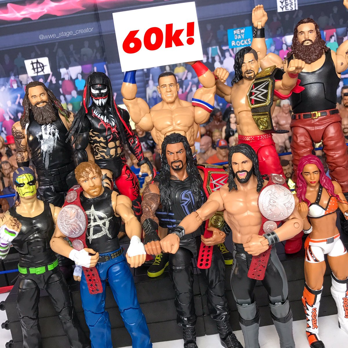 Just hit 60k followers on Instagram! #WWE #RAW #SummerSlam #SDLive <br>http://pic.twitter.com/Kc2BZvjyct