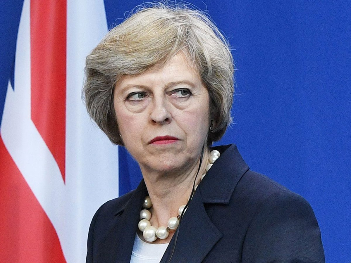 #UK PM May says looking into reports of...