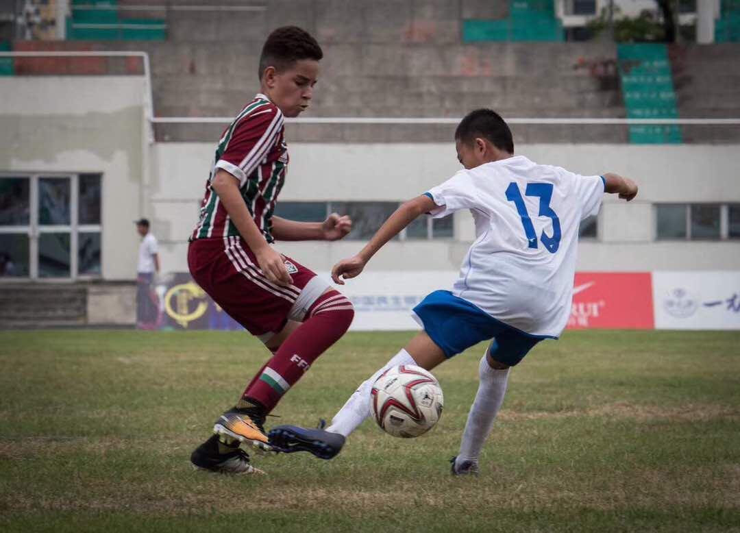 🏆Torneio BRICS Sub12 🏟️Putian, China 🇮🇹Flu 16 x 0 Chongqing FT ⚽️Davi (2), Miguel Vera, João Pedro (6), Thiago Sá (4) e Agner (3) #VemQueTem