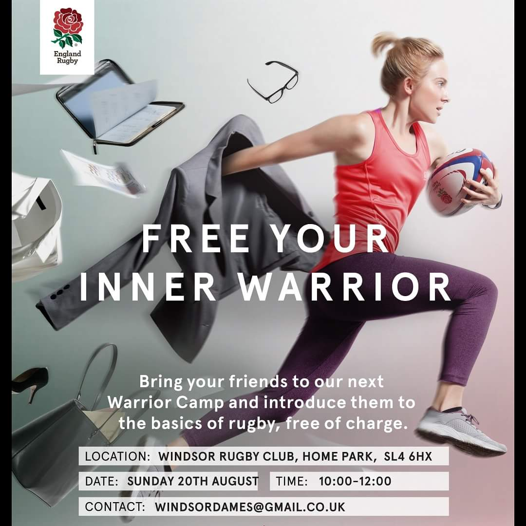 Windsor Ladies Rugby On Twitter Ready To Release Your Innerwarrior Our Tester Session Is This Sunday At 10am Just Bring Yourself And Trainers