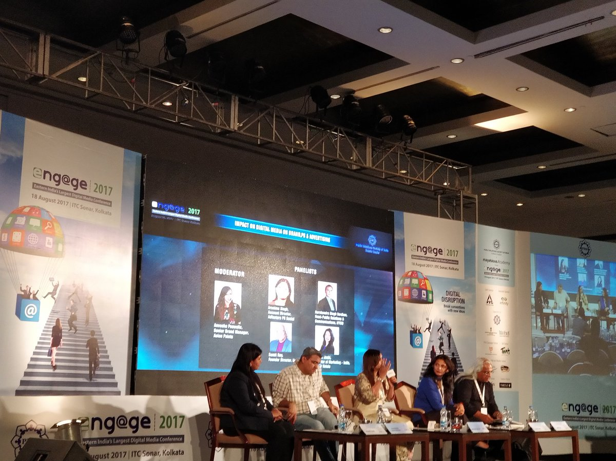 Great panel discussion led by @AnveshaPos with @univbrands @MADS_MJ @arunimasingh13 &amp; Harshendra impact #Digital Media on #pr #advertising<br>http://pic.twitter.com/yntDmsqYHi