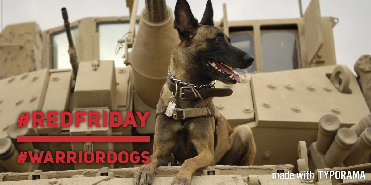 Its #RedFriday - lets get our #Red on to Remember. Everyone. Deployed -until they ALL come home. And don&#39;t forget our four-legged warriors. <br>http://pic.twitter.com/mLg1eZ2aYl