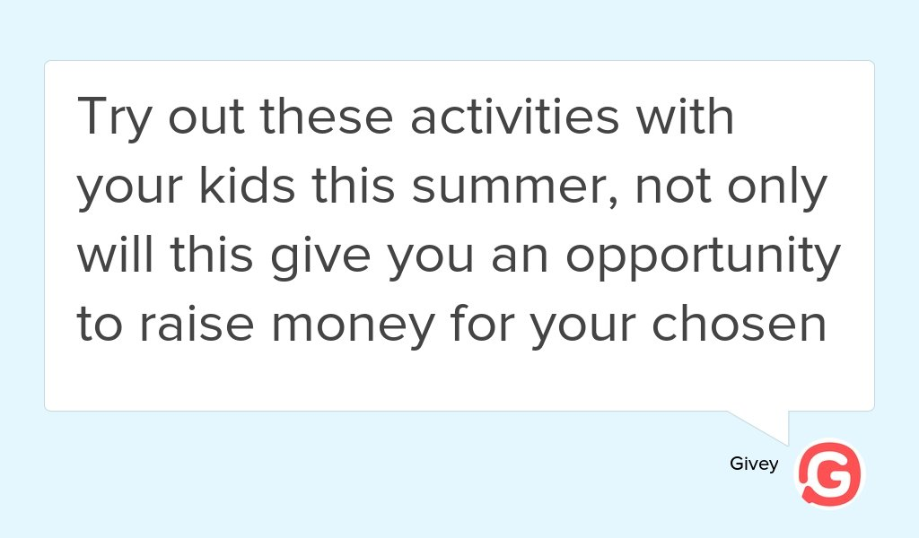 Check out our new article: 5 Easy Fundraising Activities for Kids  https:// goo.gl/Xv3fg9  &nbsp;   #Kids #Children #Time #Family<br>http://pic.twitter.com/wYri5anxCc