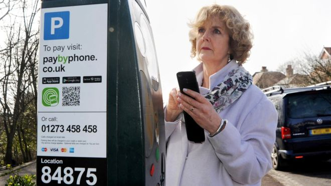 #Drivers avoid pay-by-phone #parking bays, says the AA, via @BBCBusiness  http:// ow.ly/79fC30ekZPr  &nbsp;  <br>http://pic.twitter.com/5hScqkTRzm