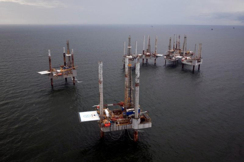 Oil jumps more than 2 percent as Wall St...