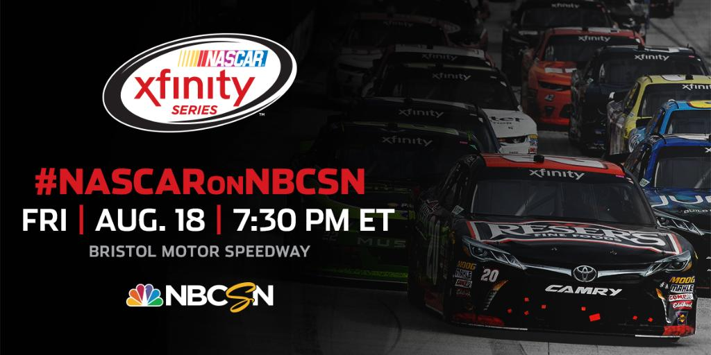It's Bristol Baby! We're racing at @BMSupdates. #FoodCity300  📺: @NBCS...
