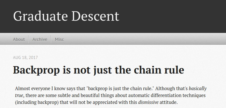 Dear #ML people: Backprop is not just the chain rule! Get #woke here: timvieira.github.io/blog/post/2017…
