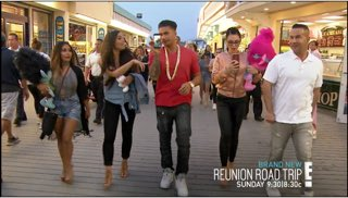 If You Excited For The Reunion Road Trip This Sunday On E! Tweet The HashTag #JerseyShoreReUnionRoadTrip https://t.co/G6CSfalHZn