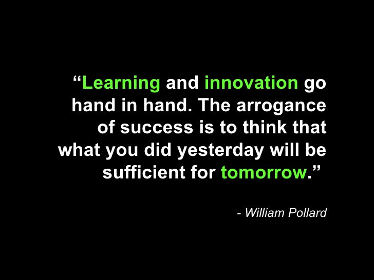 Two of my favorite things to do ... Learning &amp; Innovation :) #CE #CoreValues<br>http://pic.twitter.com/dkobqDS8LW