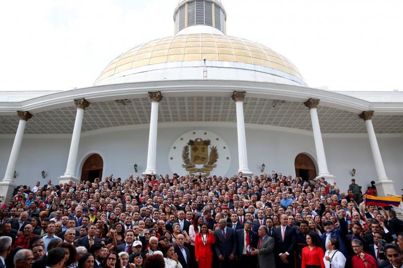 Venezuela constituent assembly assumes p...