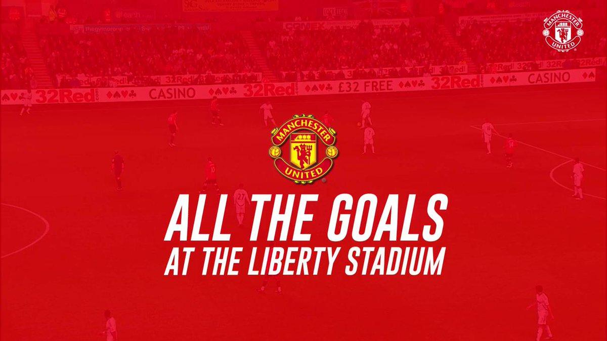 Every @PremierLeague goal we've scored at the Liberty Stadium...